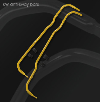 KW clubsport anti sway bars