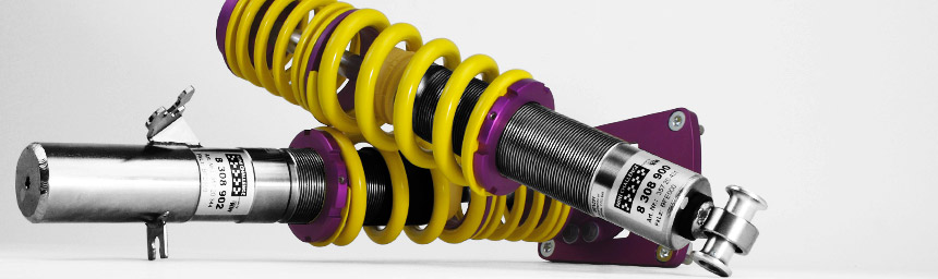 KW coilover suspension